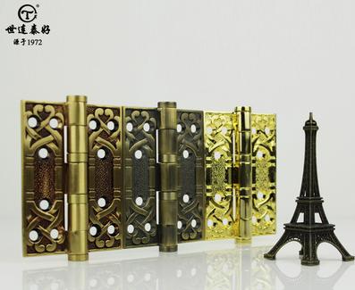 加厚纯铜锻造房门铰链