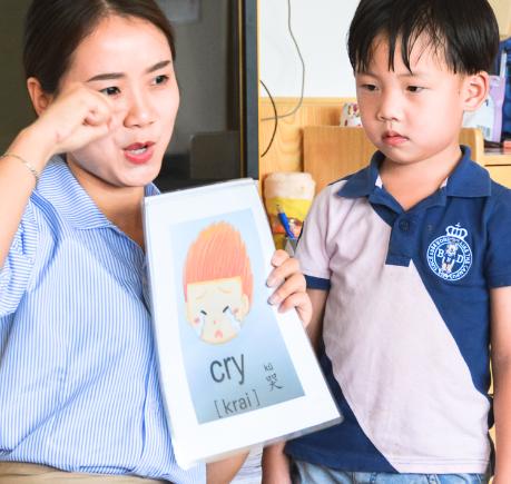 永和小牛津双语幼儿园外语课