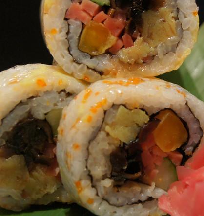 板一寿司火腿寿司