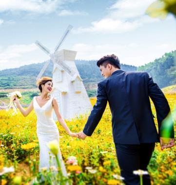 金夫人婚纱摄影户外婚纱摄影