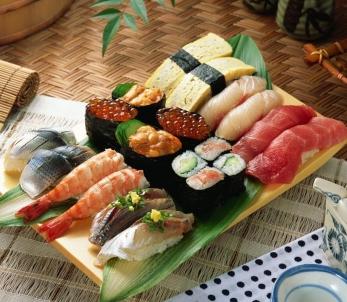 缘丰寿司寿司拼盘