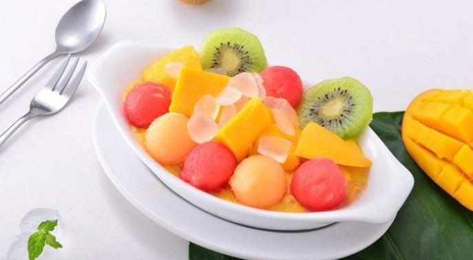 bobo港式甜品水果拼盘