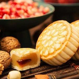 屋企港式甜品月饼