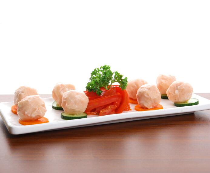 食叁味潮汕虾丸
