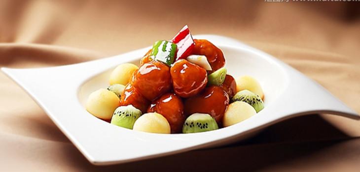 华北酒店高档菜品