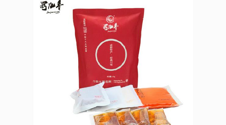 四川蜀九香火锅袋装