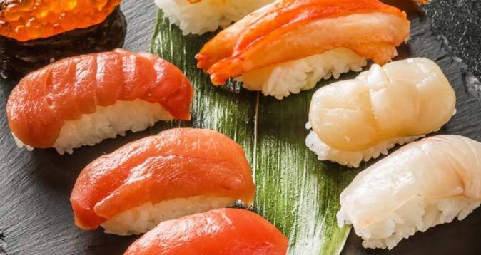禾美寿司三文鱼寿司