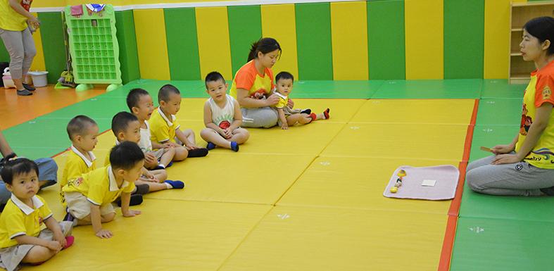 爱悦堡国际早教中心上课