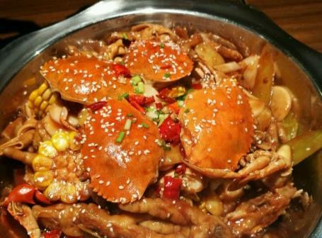 乍浦肉蟹煲