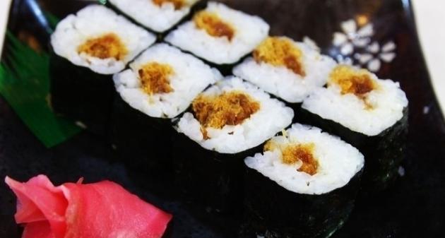 板一寿司寿司卷