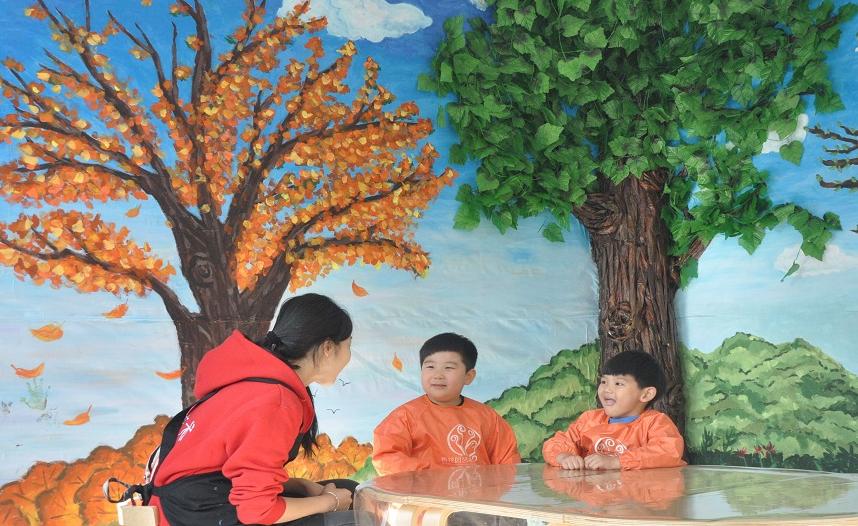 山姆大叔青花园艺术教室
