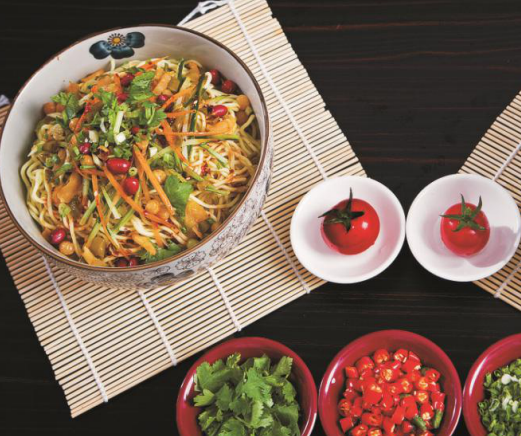 吃来吃去云南米线凉拌米线