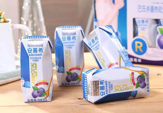 安慕希酸奶