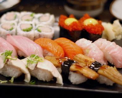 缘丰寿司三文鱼寿司