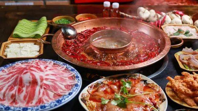 雄柒火锅美味
