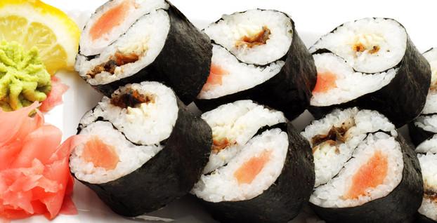 禾绿旋转寿司寿司卷