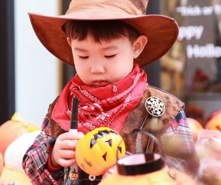 斯迪孚国际幼儿园联盟万圣节