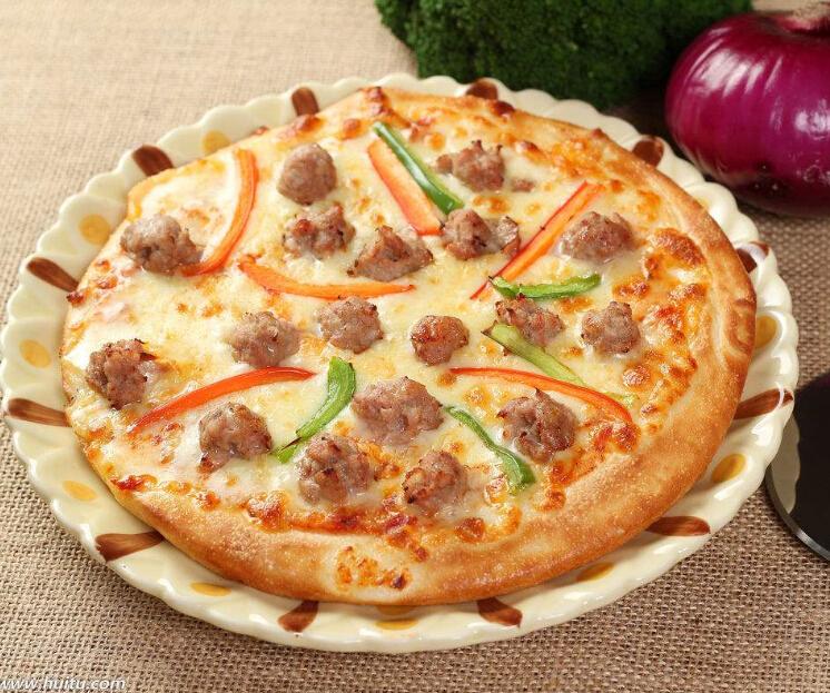 靓堡王至尊牛肉披萨