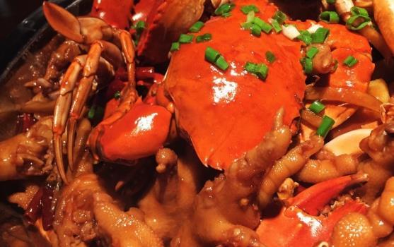 世茂肉蟹煲