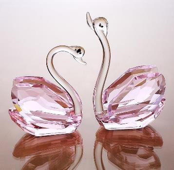 水晶水晶天鹅