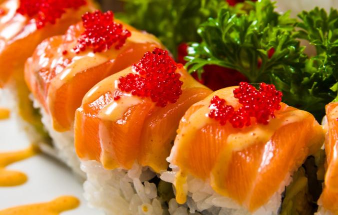 缘丰寿司蟹籽寿司