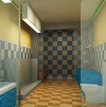 幼儿园卫生间