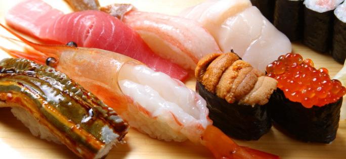 禾禄寿司蟹籽寿司