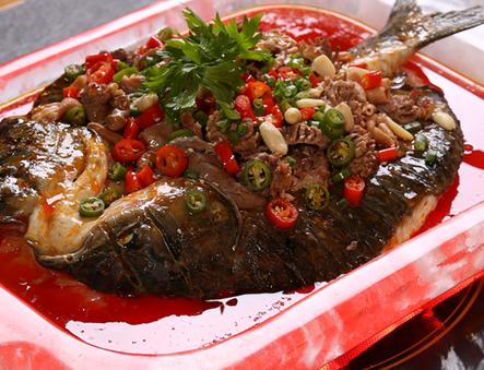金百合麻辣烤鱼