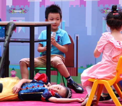 国广教育青少儿学习中心表演