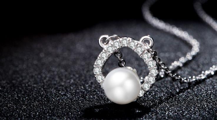 银饰珍珠吊坠
