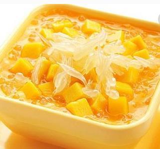 甜蜜转身港式甜品芒果柚子