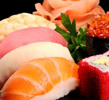米多寿司三文鱼寿司