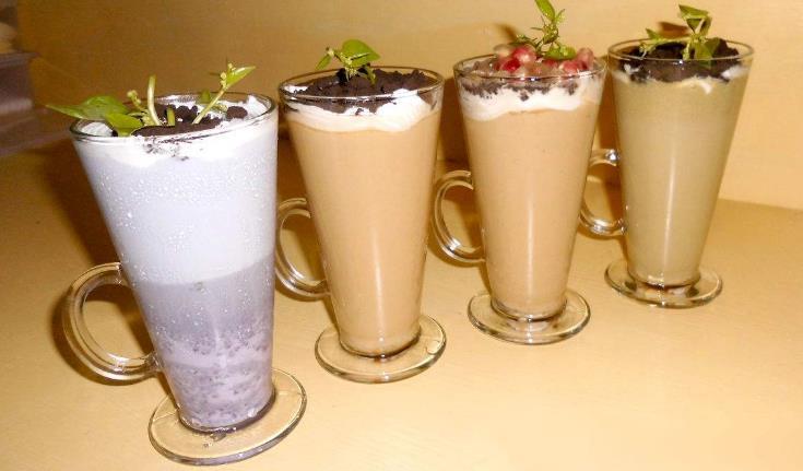 小白兔奶茶特色奶茶组合