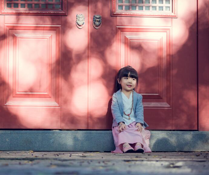 万福娃儿童摄影复古风