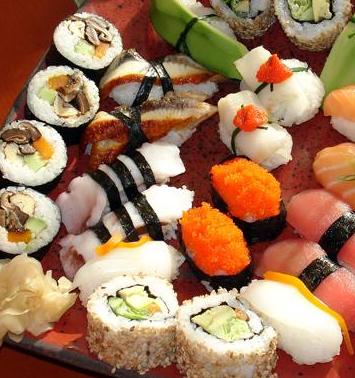 三上寿司拼盘寿司