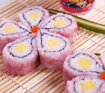 n多寿司赚樱花寿司