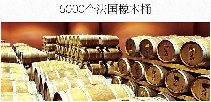 酿造法国红酒的橡木桶