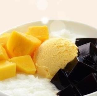 甜蜜转身港式甜品芒果