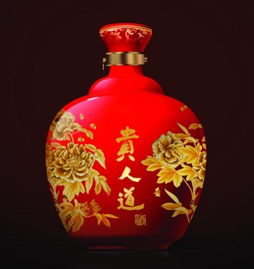 62度贵人道红花瓷
