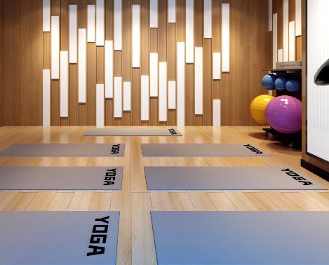 练遇健身瑜伽房