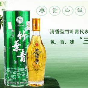 竹叶青酒清香型