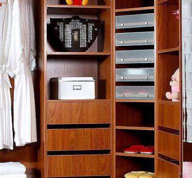 玛格整体衣柜实木衣柜