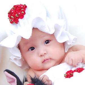 伊娜爱贝儿知名儿童摄影花朵帽