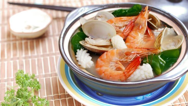 钦瓦台海鲜烧烤自助火锅大虾