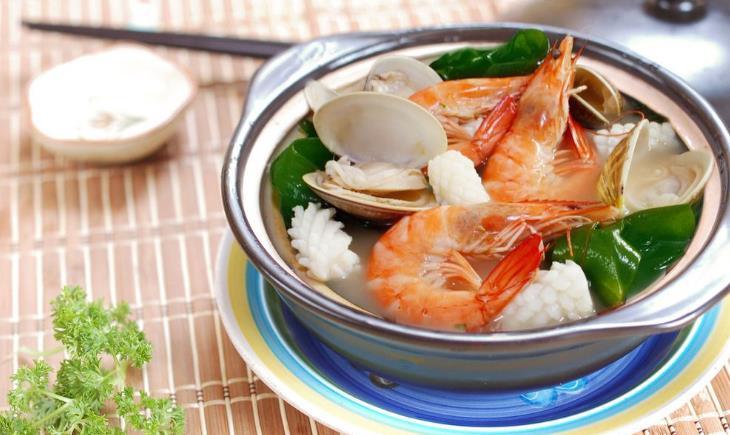 泰色天香海鲜火锅大虾