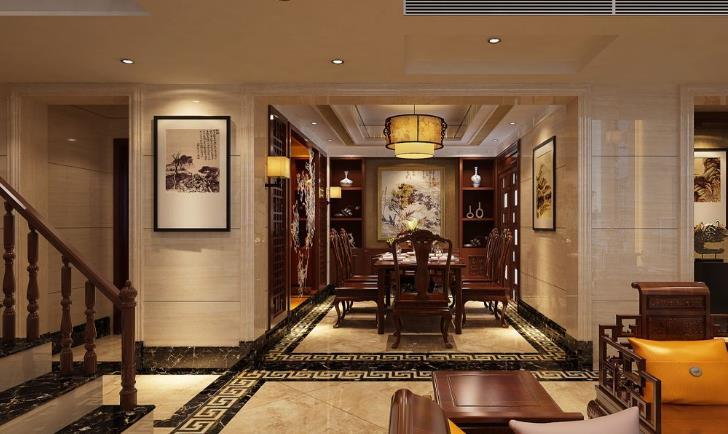 高徳瓷砖客厅装修效果图