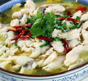 鮮辣魚生酸菜魚米飯