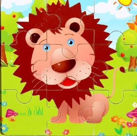 亲学派早教益智玩具狮子