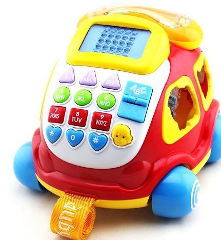 亲学派早教益智玩具电话