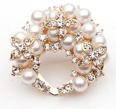 艾莎发品珍珠